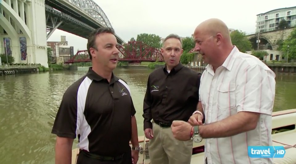 Bizarre Foods With Andrew Zimmern Features Catanese Classic Seafood