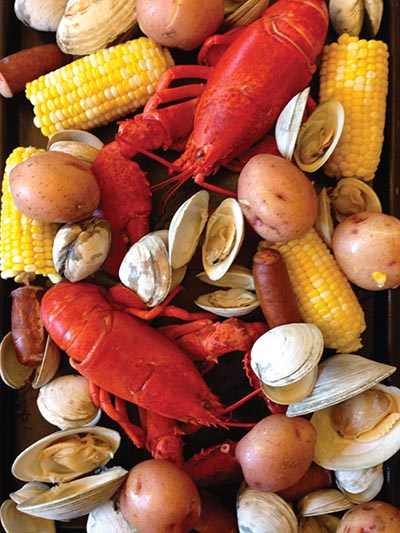 Clambake Spread