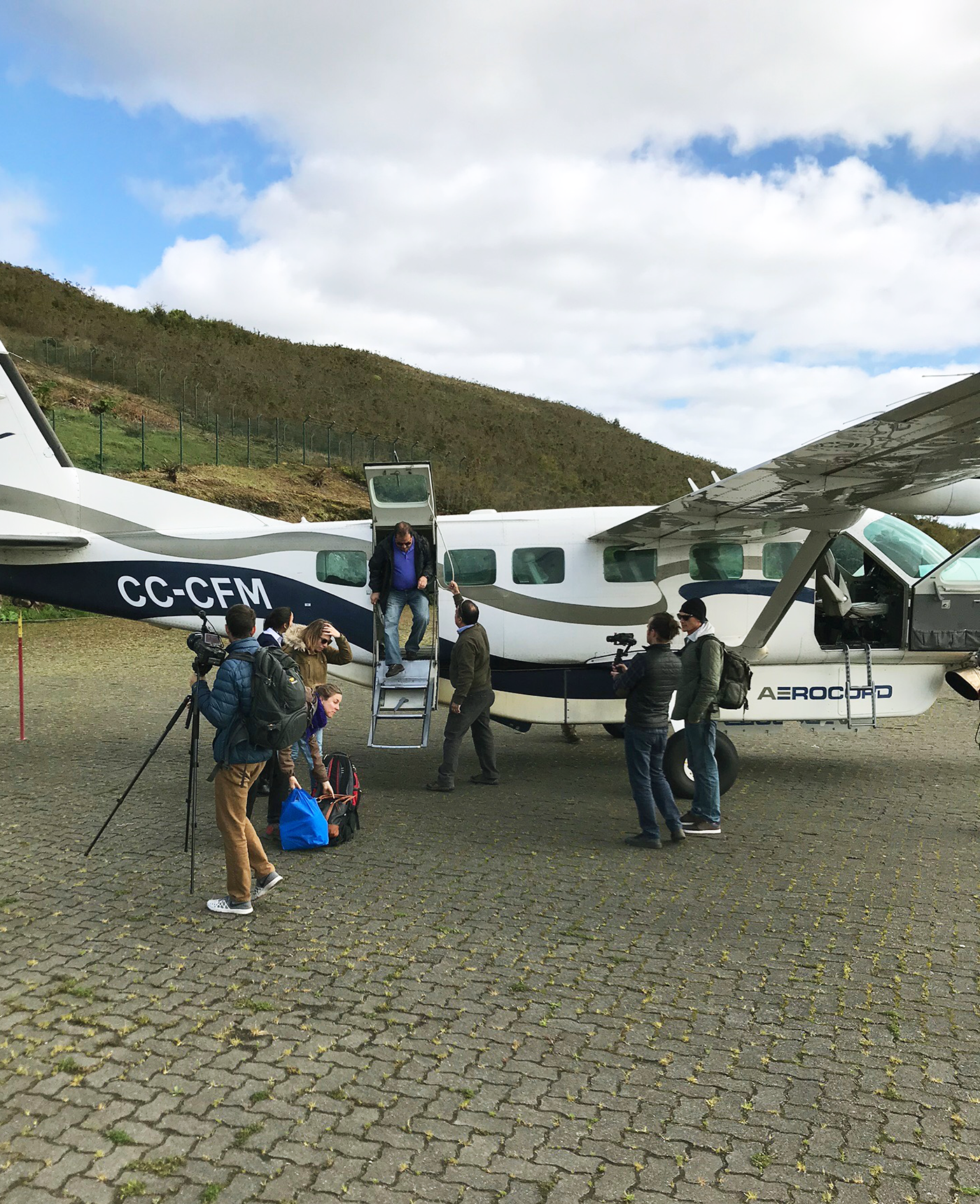 Landing in Puerto Montt