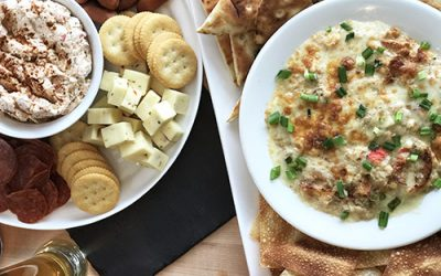 Crab Rangoon Super Bowl Dip